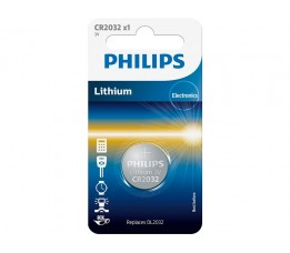Philips Batterij Cr2032  Lithium 3v