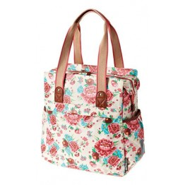 Basil Tas Bas Bloom Shopper Gardenia