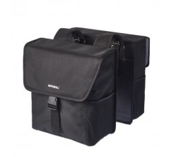 Basil Go Double Bag 32l Solid Black