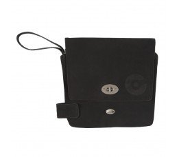 Cortina Cort Stockholm Tablet Bag Leat Antr
