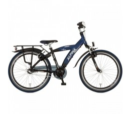 Alpina Yabber 24inch, Sporty Blue Matt - Jet Black M