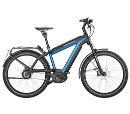Riese Und Müller Supercharger Gt Nuvinci Hs 1000wh, Electric Blue Metallic