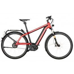 Riese & Müller Charger Gt Nuvinci Hs 500wh, Electric Red Metallic